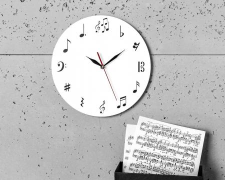 Ceas de perete MUSIC  30 cm [3]