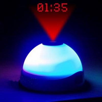 Ceas Desteptator Cu Proiector si Lumina LED0