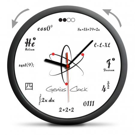 Ceas de perete Geniu1