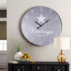 Ceas de perete Vintage Star 58 cm