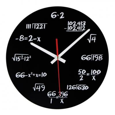 Ceasul de perete Matematica2