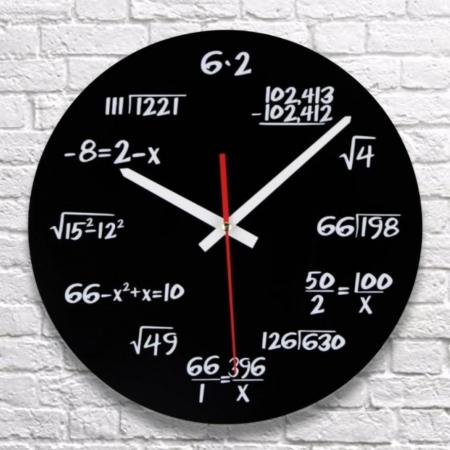 Ceasul de perete Matematica [0]