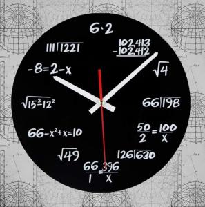 Ceasul de perete Matematica0