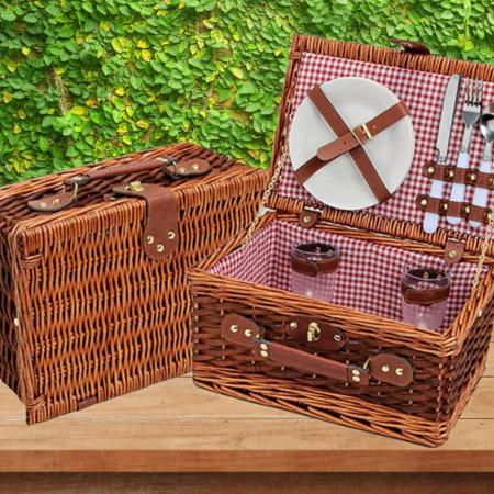Cos pentru picnic 2 persoane Rote1