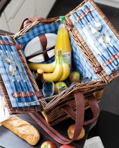 Cos pentru picnic SUMMERTIME de 4 persoane0