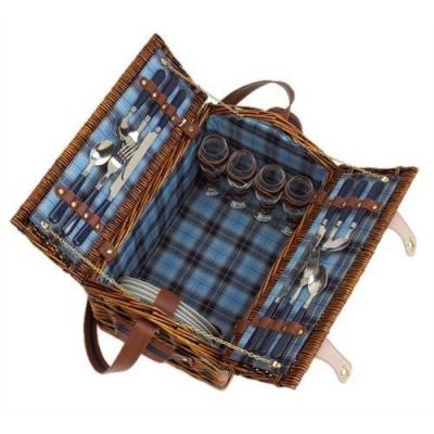 Cos pentru picnic SUMMERTIME de 4 persoane2