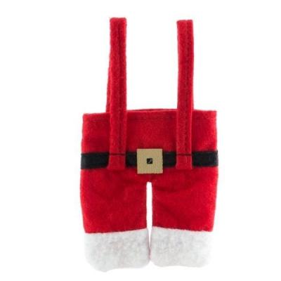 Costum de Mos Crăciun pentru tacamuri3