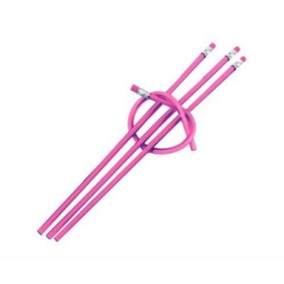 Creion flexibil roz1