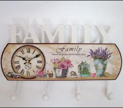 Cuier Family cu ceas