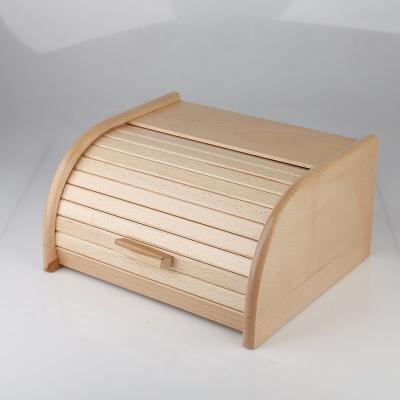 Cutie din lemn pentru paine cu tacator0