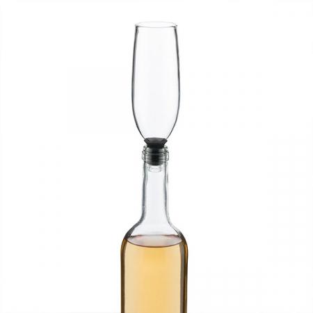Dop din sticlă pentru sticle Pahar Glam2