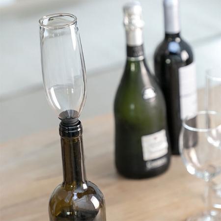 Dop din sticlă pentru sticle Pahar Glam0