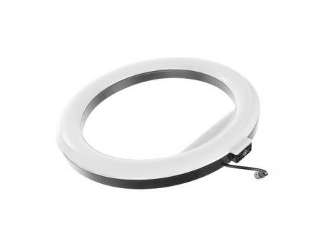 Lampa circulara portabila, cu putere de 30W pentru foto, make-up, cosmetica8