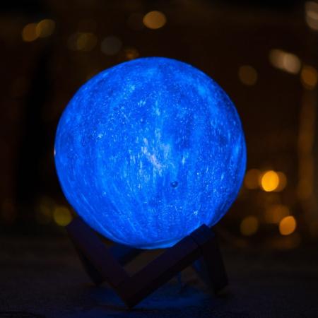 Lampa 3D - STARS - 16 culori1