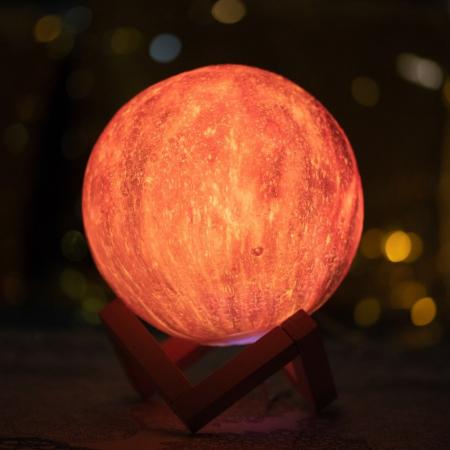 Lampa 3D - STARS - 16 culori0