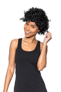 Peruca afro neagra2
