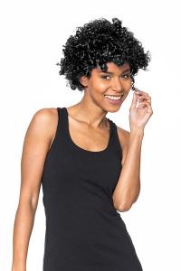 Peruca afro neagra1