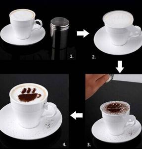 Set 16 forme pentru decorat cafeaua3