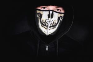 Masca de neopren - cap de mort.0