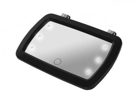 Oglinda auto supraveghere copil, iluminata LED4