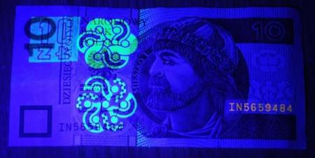Tester bancnote cu raze UV9
