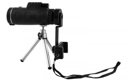 Telescop cu lentile pentru telefon pe trepied4