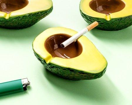 Scrumiera Avocado [1]