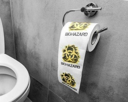 Hartie igienica  BIOHAZARD XL0
