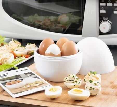Fierbător de ouă pentru cuptorul cu microunde0