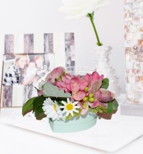 Cutie mica cu flori2