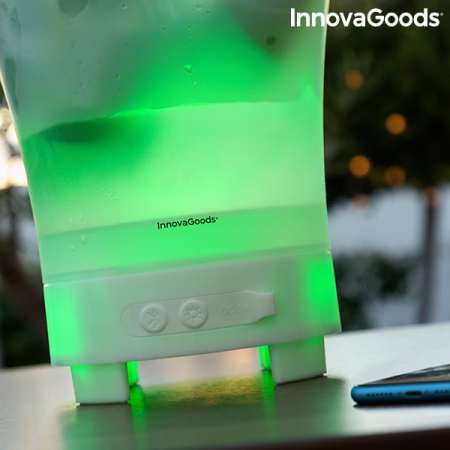 Frapiera LED cu boxa reîncărcabilă Sonice5