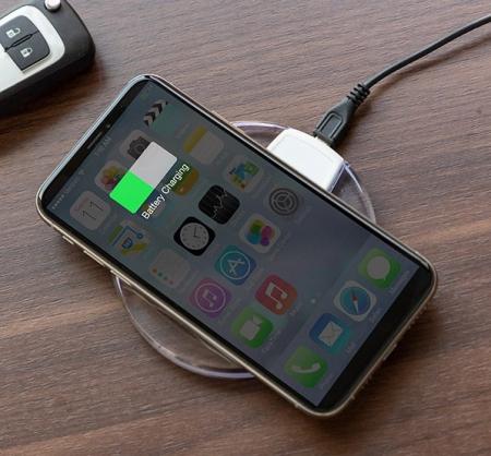 Incărcător Fără fir Pentru Smartphone-uri Qi Wh0
