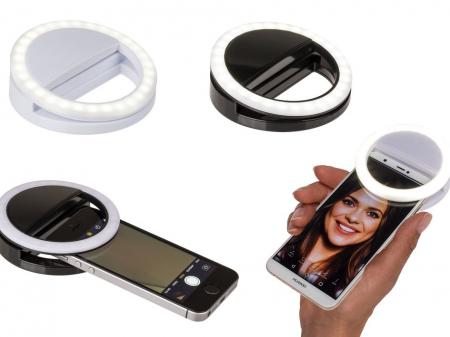 Inel Selfie LED pentru telefon1