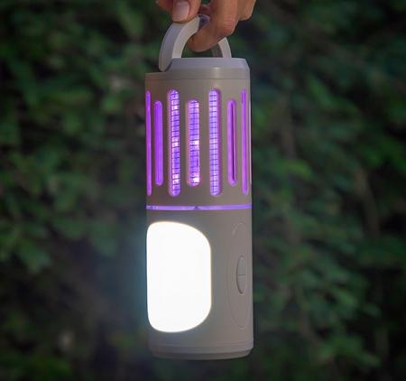 Lampa anti tantari lanternă și felinar portabil 3 în 12