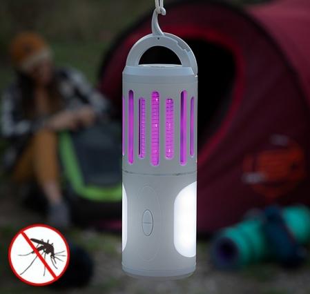 Lampa anti tantari lanternă și felinar portabil 3 în 10
