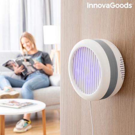 Lampa anti-țânțari pe baza de aspirație cu suport de perete KL [1]