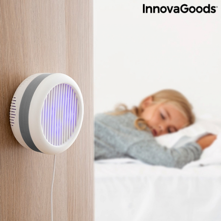Lampa anti-țânțari pe baza de aspirație cu suport de perete KL [7]
