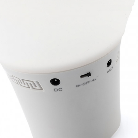 Lampă Bec LED Tactil din Silicon cu Boxă5