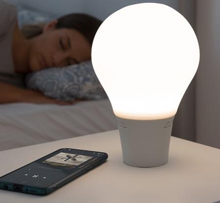 Lampă Bec LED Tactil din Silicon cu Boxă6