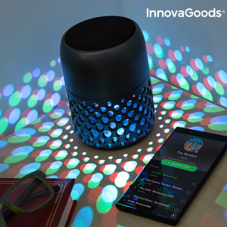 Lampă LED reîncărcabilă cu difuzor Bluetooth Mandalamp6