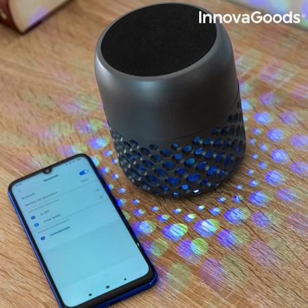 Lampă LED reîncărcabilă cu difuzor Bluetooth Mandalamp4
