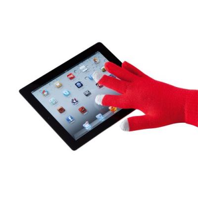 Manusi cu touchscreen rosii2