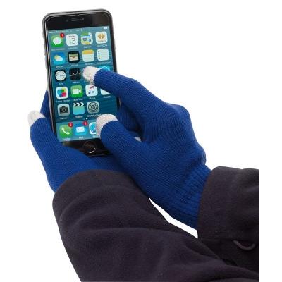 Manusi touchscreen albastre0