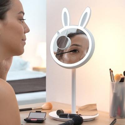 Oglinda-lampă Led pentru machiaj 2 în 1 Bany0