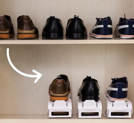 Organizator de pantofi reglabil Shoe Rack InnovaGoods (6 perechi) [0]