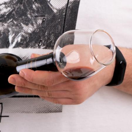 Pahar dop de sticla de vin0