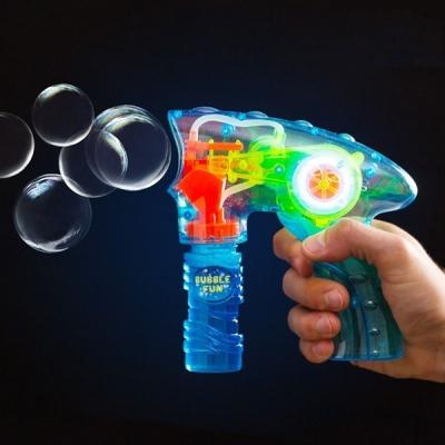 Pistol pentru baloane de sapun cu lumina0
