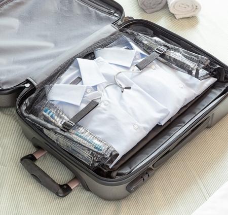 Raft pliant tip organizator portabil pentru bagaj. Sleekbag4