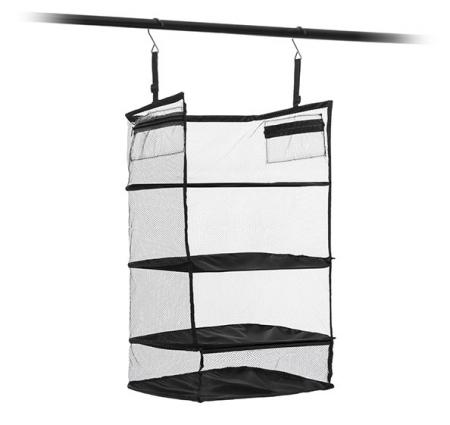 Raft pliant tip organizator portabil pentru bagaj. Sleekbag1