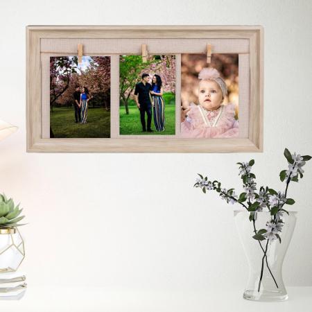 Rama foto de perete personalizata cu 3 fotografii0